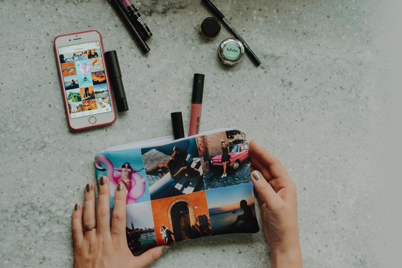Косметичка с фотографиями