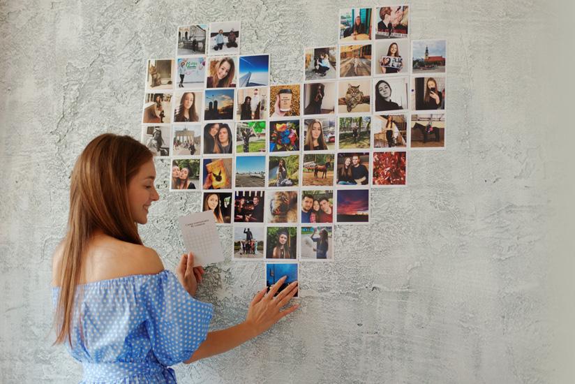 коллаж из фотографий родственников расширяется стилистика квартиры