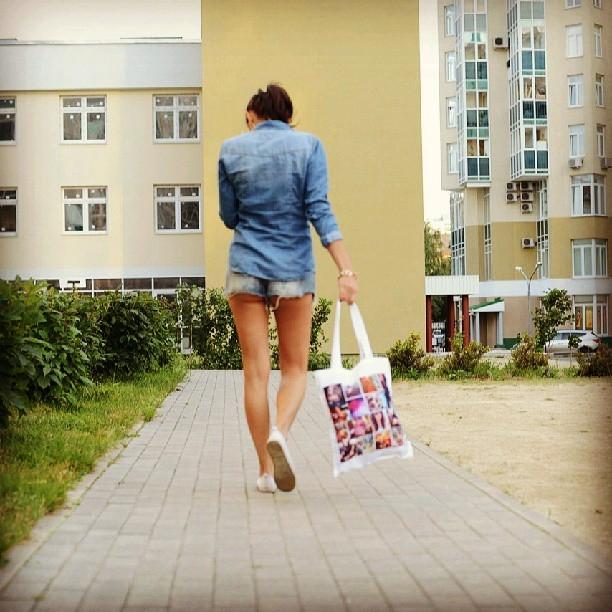 Пляжная сумка с фотографиями