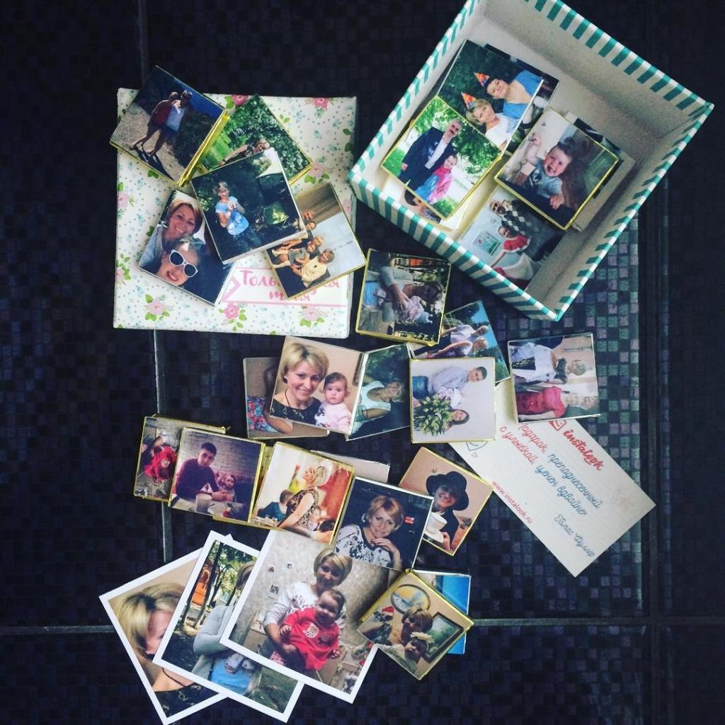Шоколадки с фотографиями