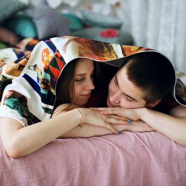 Плед с фото в Екатеринбурге