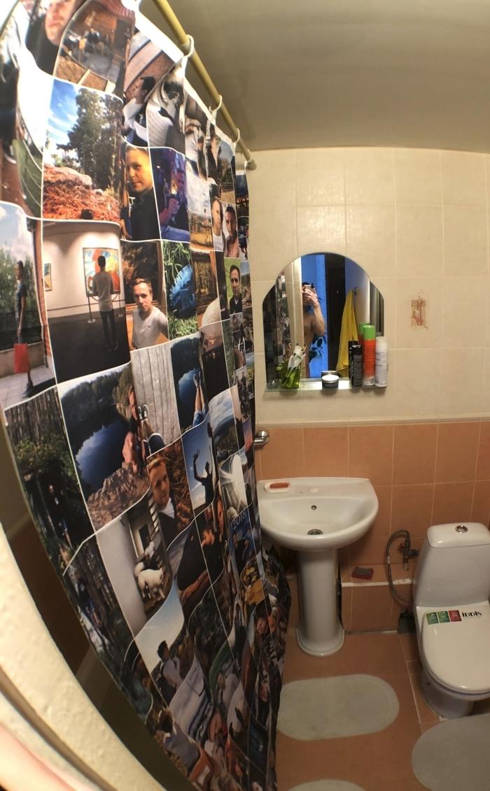 шторка в ванную с фотографиями и еще много безбашенных идей на всю жизнь
