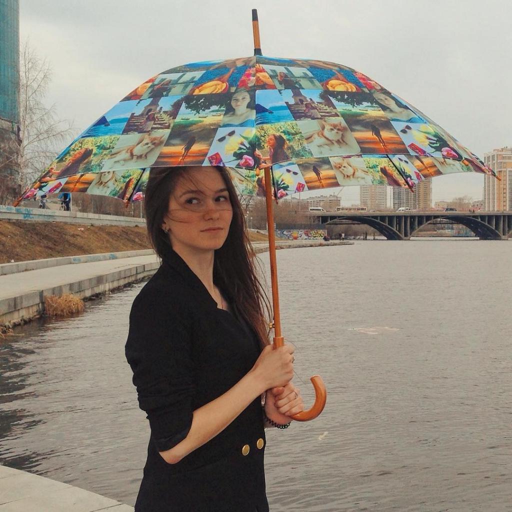 Зонтик с фотографиями на заказ