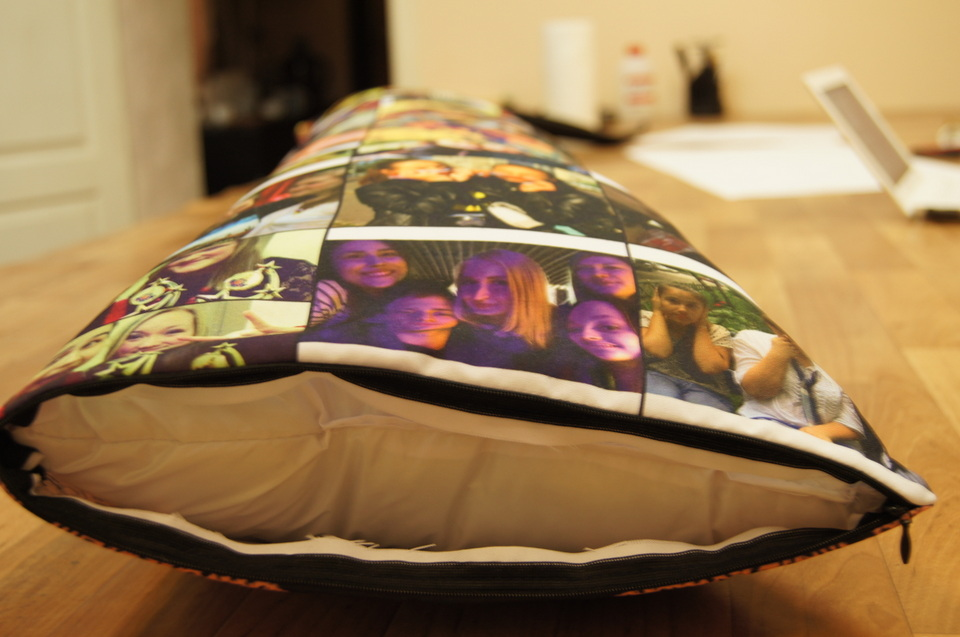 наволочка для подушки с молнией