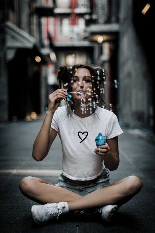 Как красиво сфоткаться с мыльными пузырями