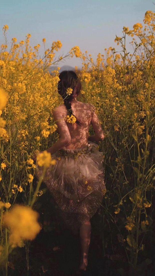 как красиво сфоткаться в поле
