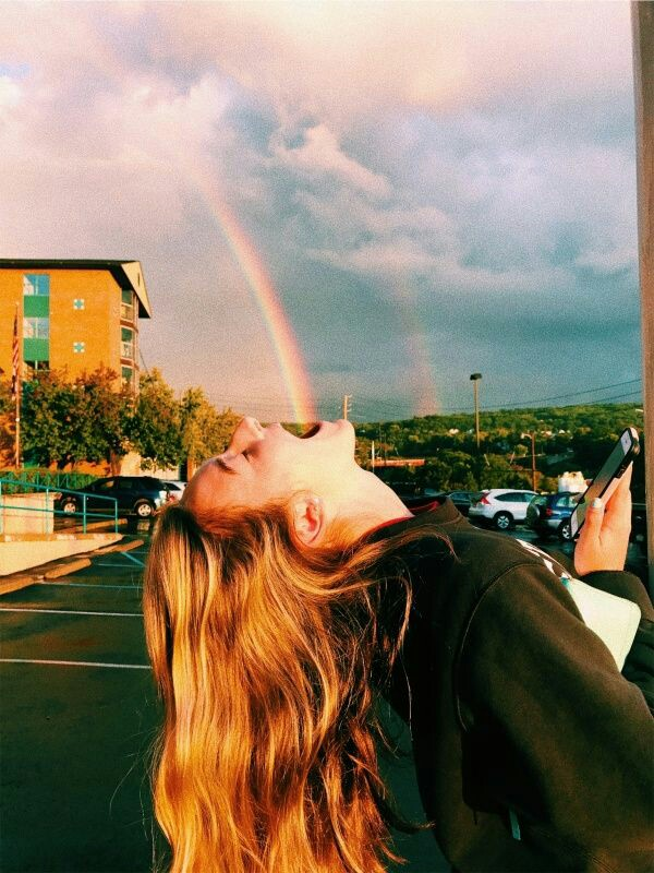 как красиво и необычно сфотографировать радугу