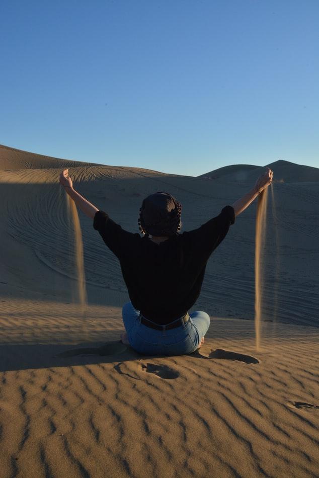 идеи красивых фотографий с песком
