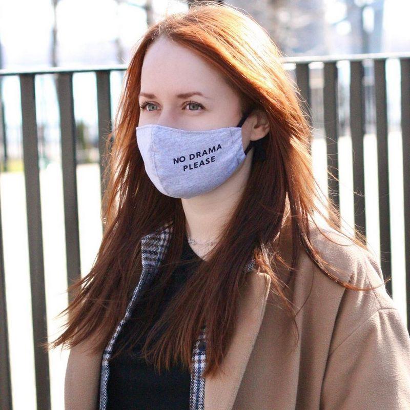 Фотографии людей в масках