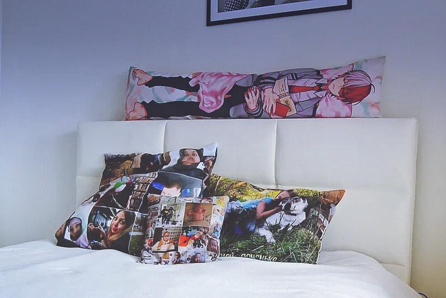 Какие размеры у подушки с фотографиями
