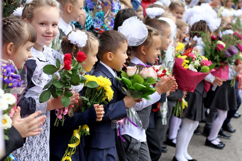 Как подарить цветы учительнице на первое сентября