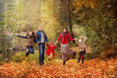 что надеть на осеннюю фотосессию с семьёй