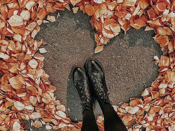 идеи для фото с листьями