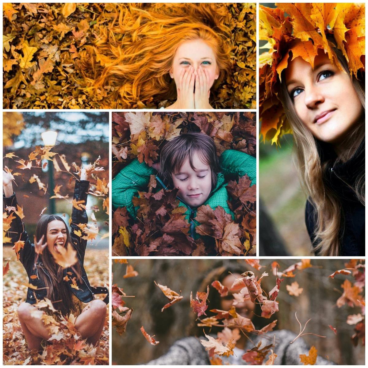 Идеи для портрета осенью