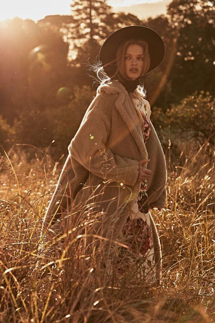 Как красиво сфоткать девушку осенью