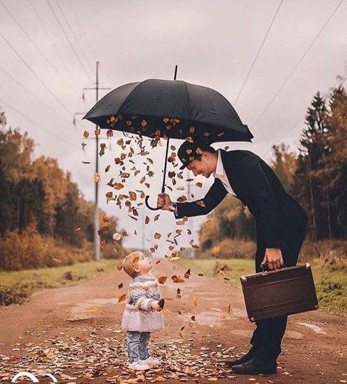 необычные фото с зонтом