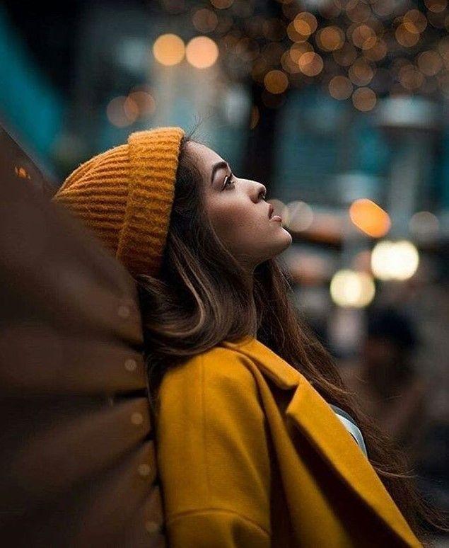 Осенний портрет на улице