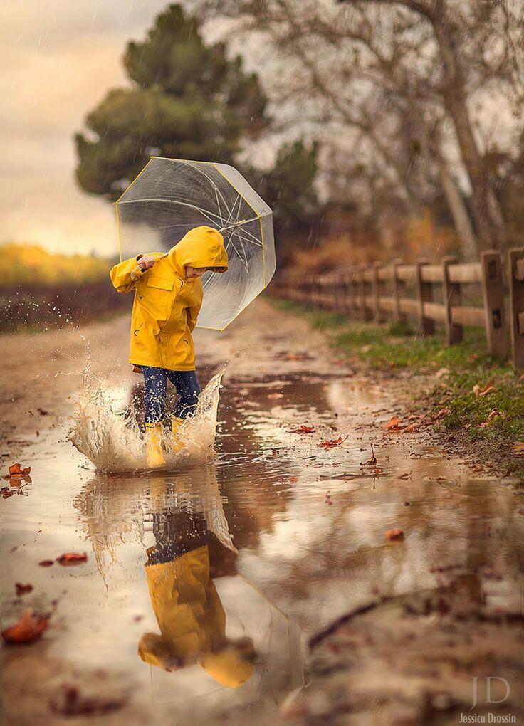 идеи для фото с зонтом