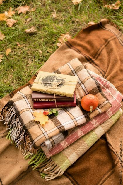 Пикник осенью в парке
