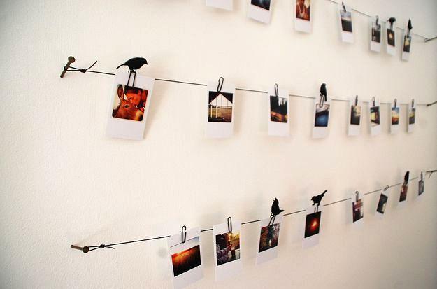 10 способов прикрепить гирлянду к стене