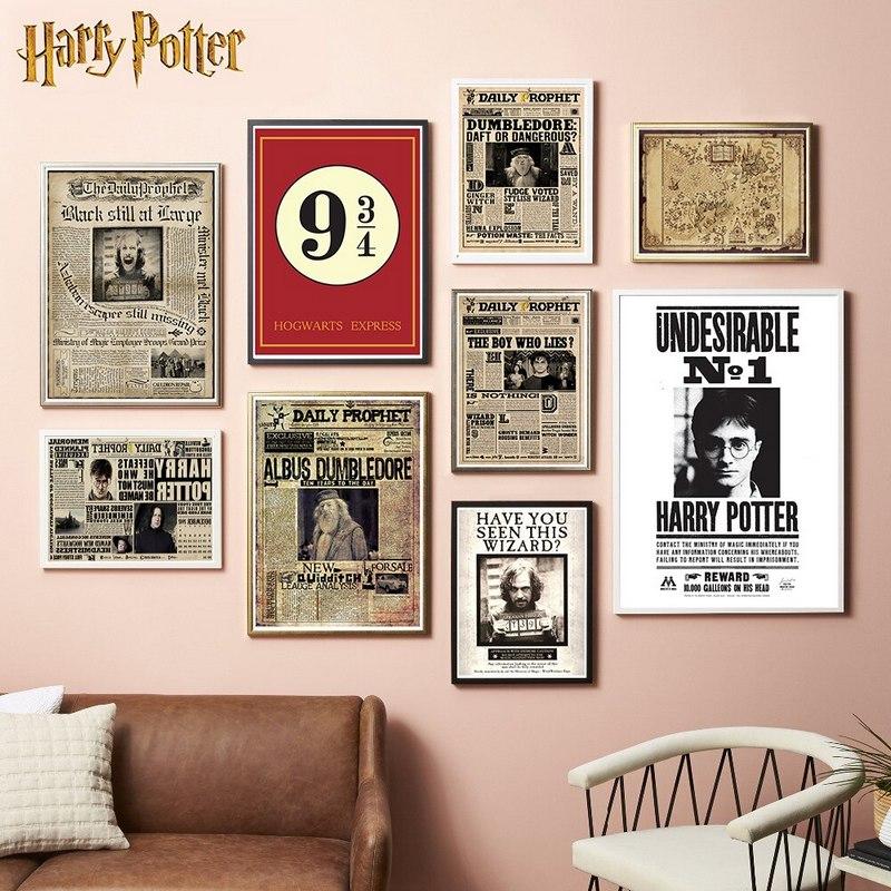 постер с Гарри Поттером