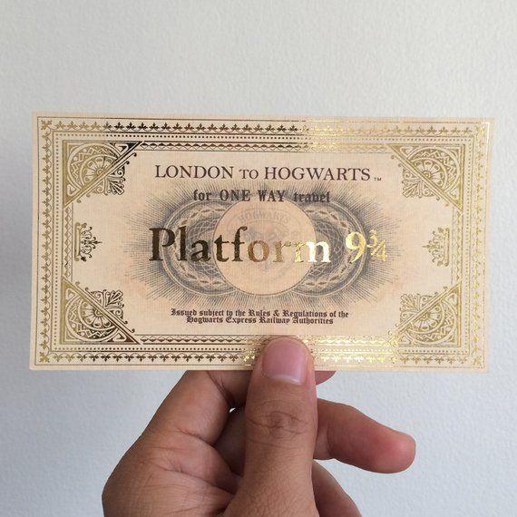 заказать билет на Хогвартс-экспресс
