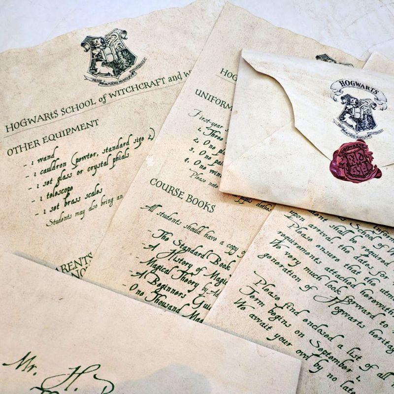 письмо из Хогвартса заказать подарок