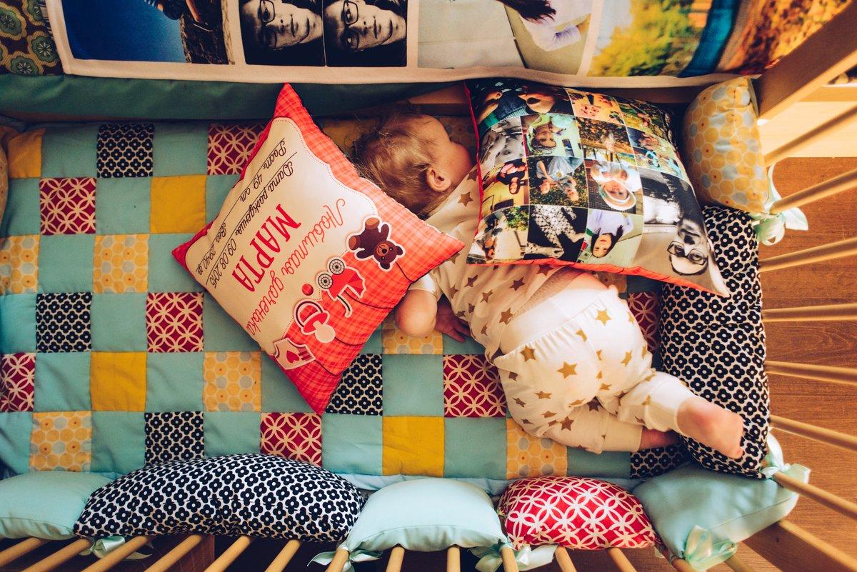 Подушка со своим фото