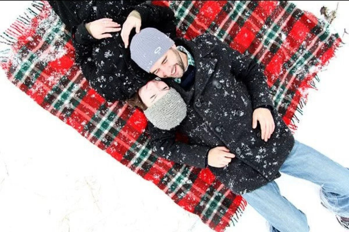 Зимняя фотосессия Lovestory