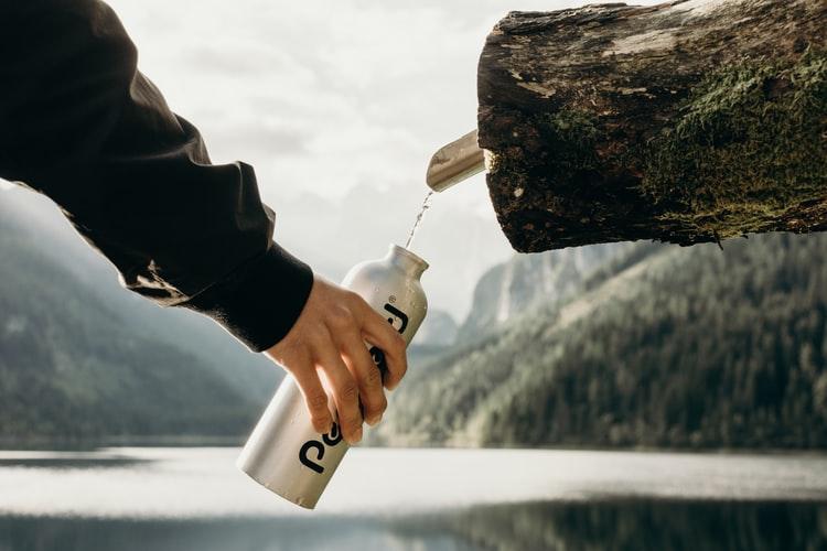 Стальная бутылка для воды