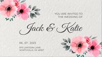 свадебные приглашения шаблон для скачивания бесплатно