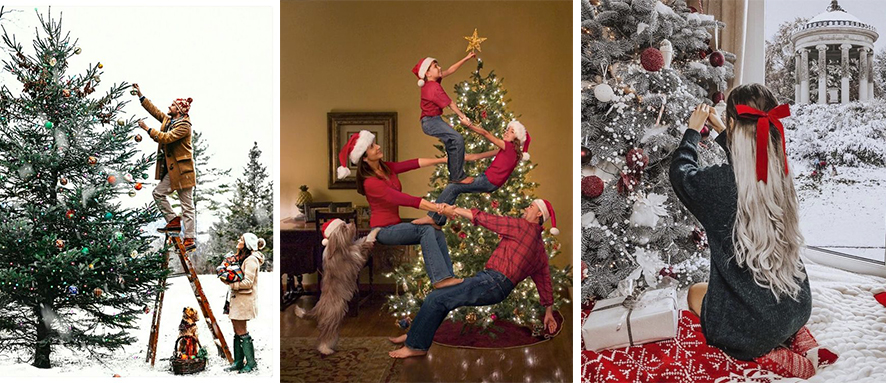 как лучше провести фотосессию дома перед Новым годом