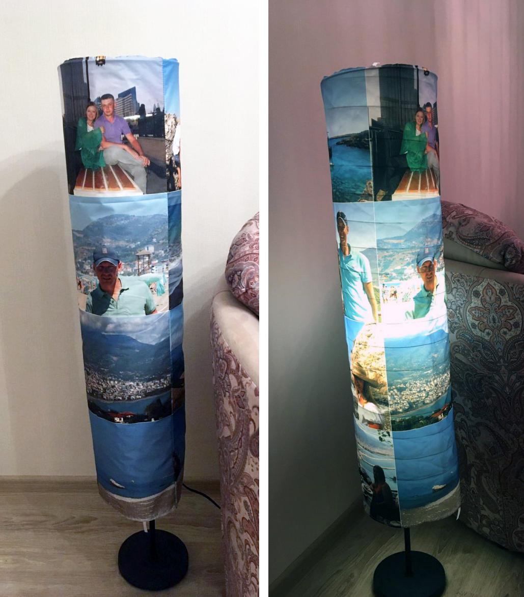 Изготовление светильников с фотографиями