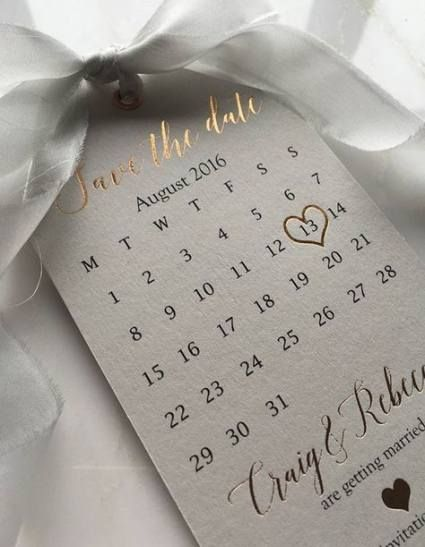 приглашение-календарик